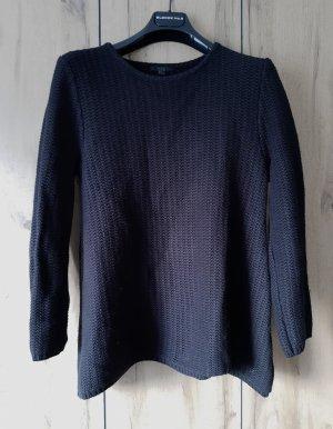 COS Gebreide trui zwart Wol