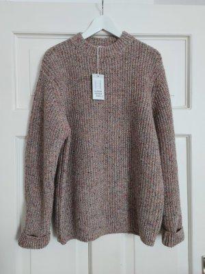 COS Pull tricoté multicolore laine
