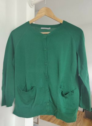 COS Giacca in maglia verde Cotone