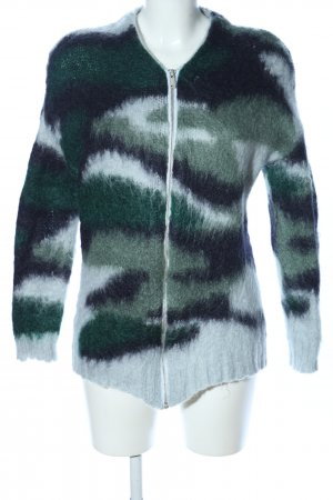 COS Strickjacke Camouflagemuster Casual-Look