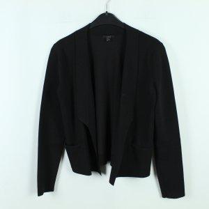 COS Veste en tricot noir tissu mixte