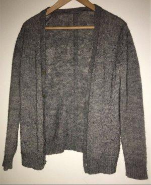 COS Chaqueta de lana gris antracita