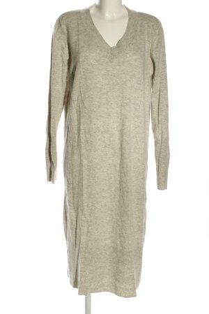 COS Robe en maille tricotées gris clair moucheté style décontracté