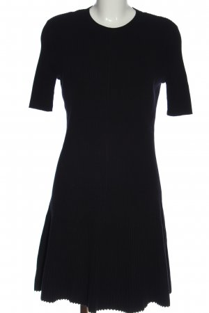 COS Knitted Dress blue casual look