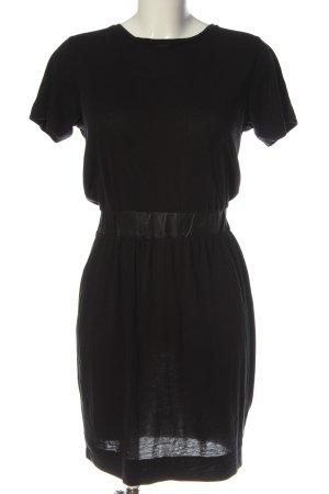 COS Gebreide jurk zwart elegant