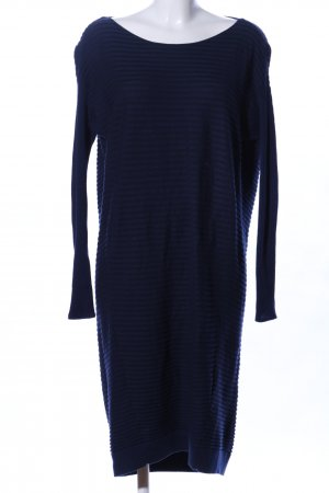 COS Strickkleid blau Streifenmuster Casual-Look