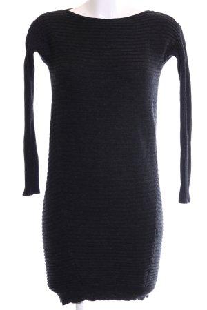 COS Robe en maille tricotées bleu motif rayé style décontracté