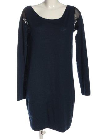 COS Strickkleid blau Casual-Look