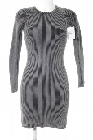 COS Knitted Dress grey-black casual look