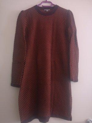 COS Robe en maille tricotées brun-orange