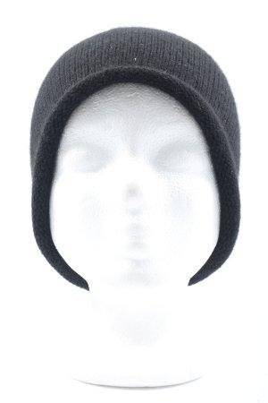 COS Gebreide Muts zwart casual uitstraling