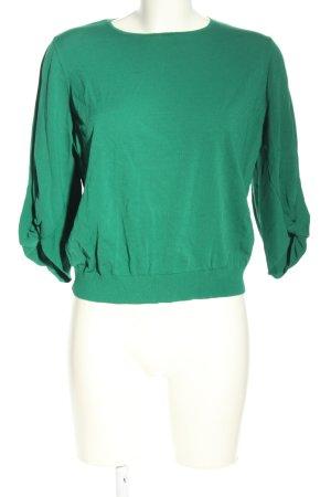 COS Gebreide trui groen casual uitstraling