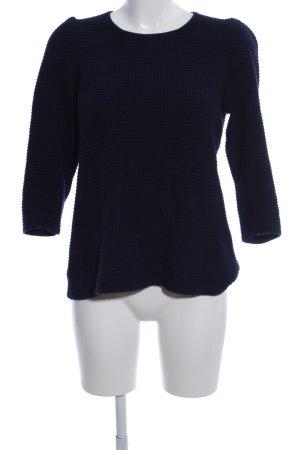 COS Strickpullover blau Casual-Look