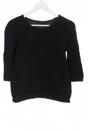 COS Knitted Sweater black casual look