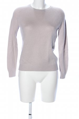 COS Strickpullover lila Business-Look