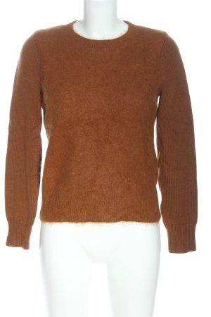 COS Jersey de punto marrón look casual