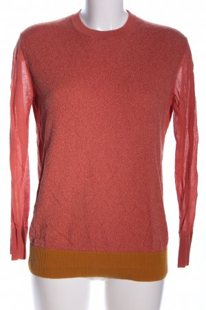 COS Knitted Sweater red-light orange flecked casual look