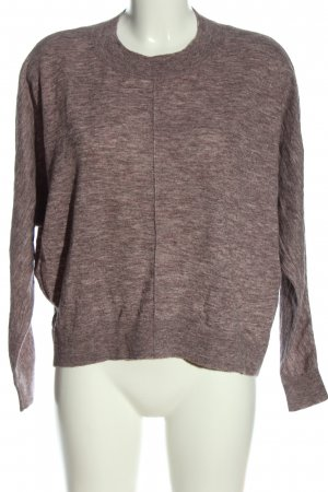 COS Strickpullover braun meliert Casual-Look