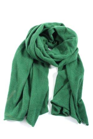 COS Szal z dzianiny zielony W stylu casual