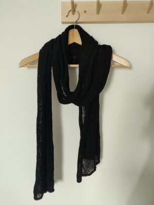 COS Gebreide sjaal zwart