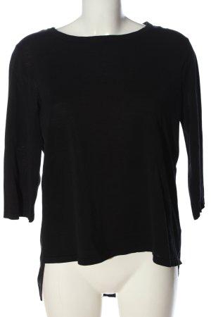 COS Camicia maglia nero stile casual
