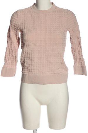 COS Strickshirt pink Casual-Look