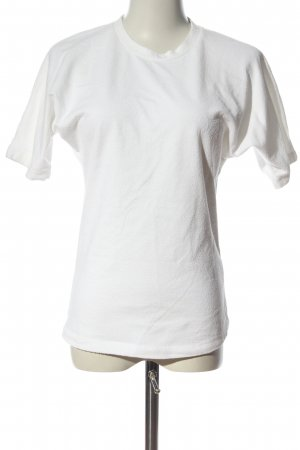 COS Strickshirt weiß Casual-Look