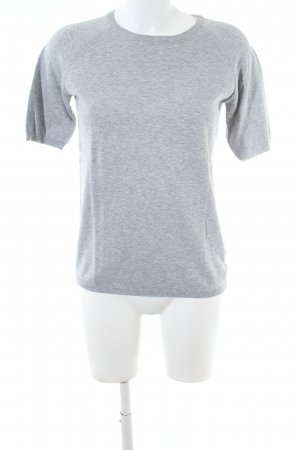COS Knitted Jumper light grey flecked casual look