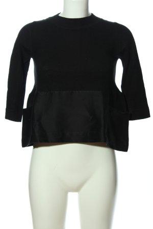 COS T-shirts en mailles tricotées noir style d'affaires