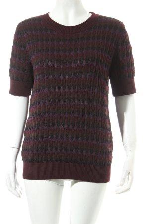 COS Strickshirt lila-dunkelgrün Street-Fashion-Look