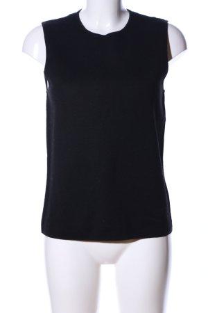 COS Haut tricotés noir style d'affaires