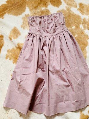 COS A Line Dress rose-gold-coloured-light pink