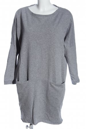 COS Sweat Dress light grey flecked casual look