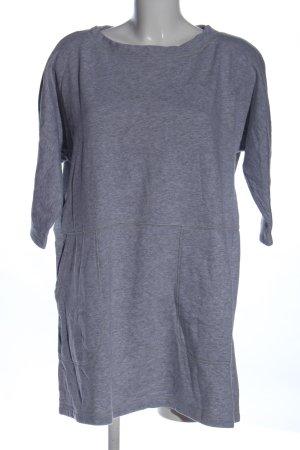 COS Robe Sweat gris clair moucheté style décontracté
