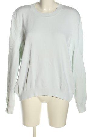 COS Sweatshirt weiß Casual-Look