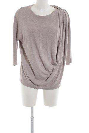 COS Suéter gris claro moteado look casual