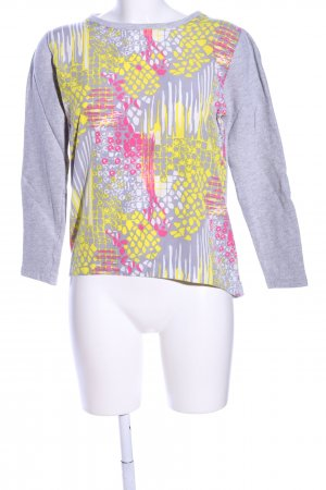 COS Sweatshirt abstraktes Muster Casual-Look