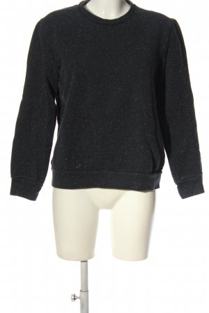 COS Sweatshirt schwarz Casual-Look