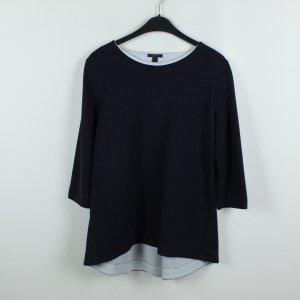 COS Sweatshirt Gr. M dunkelblau hellgrau (19/10/074)