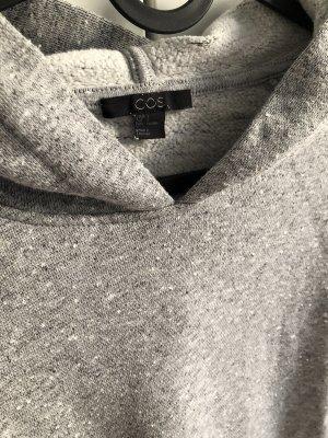 COS Sweatshirt Kapuzenpullover Hoodie Grau melange Gr. S