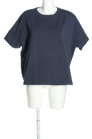 COS T-Shirt blau Casual-Look