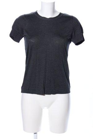 COS T-Shirt schwarz meliert Casual-Look