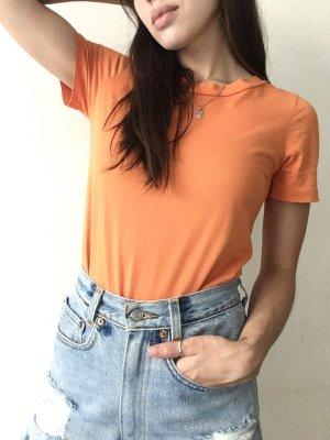 COS T-shirt oranje Katoen