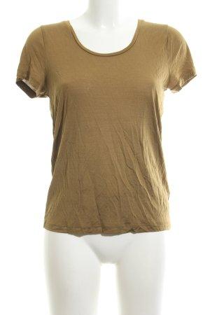 COS T-Shirt bronzefarben Casual-Look