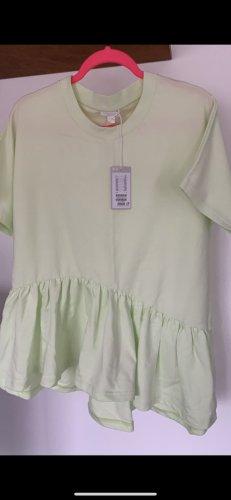 COS Lang shirt neon groen-lichtgroen