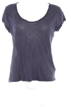 COS T-Shirt dunkelblau minimalistischer Stil