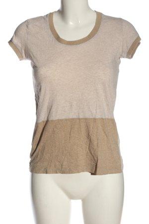 COS T-Shirt nude-wollweiß meliert Casual-Look