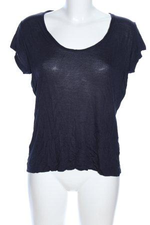 COS T-Shirt blau Casual-Look