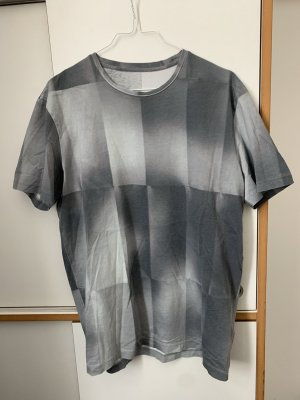 COS T-Shirt silver-colored-light grey cotton