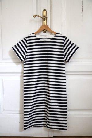 COS T-Shirt-Kleid Baumwollkleid NEU Shirt Dress XS gestreift Streifen